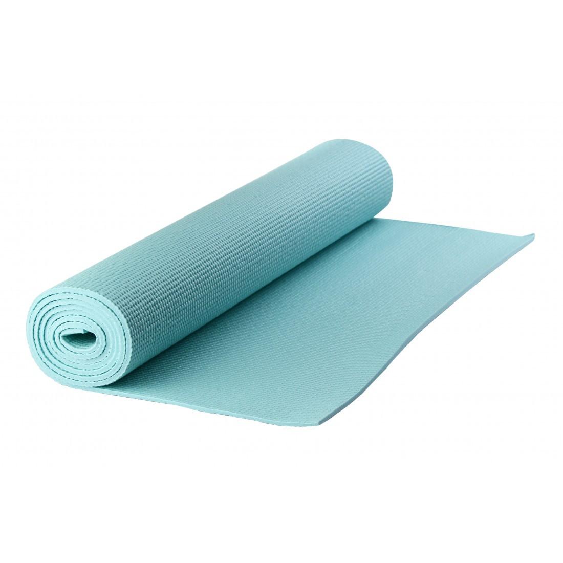 Коврик для йоги PVC Maxed YOGA MAT 1830x610x6 мм голубой