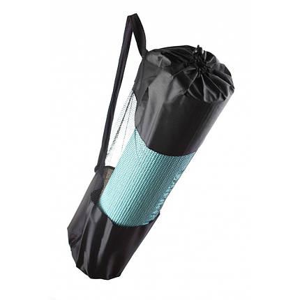 Коврик для йоги PVC Maxed YOGA MAT 1830x610x6 мм голубой, фото 2