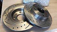 Тормозные диски SPORT для ВАЗ-2108-2109-21099,2113-15 (R13) с перфорацией