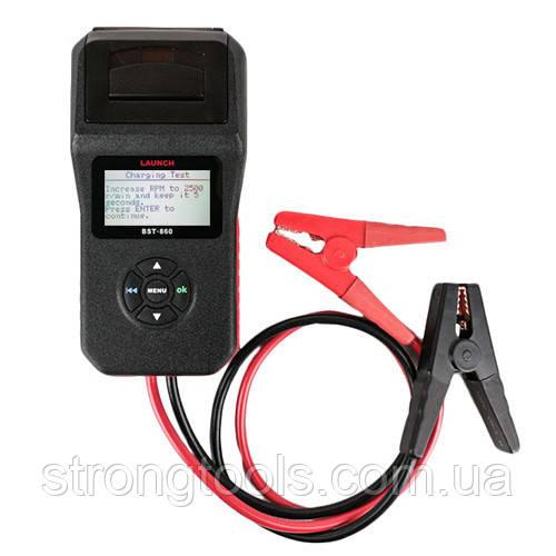 Тестеры аккумуляторных батарей АКБ LAUNCH BST-860