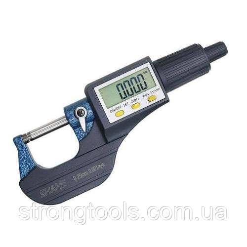 Цифровой микрометр 0-25мм/0,001мм PROTESTER 5202-25