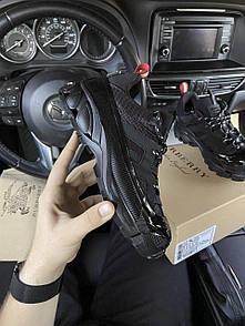 Жіночі кросівки Burberry Arthur Sneakers Black / Барбері Артур Снікерс Чорні