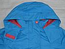 Детская куртка-ветровка с флисовой подстежкой голубая (QuadriFoglio, Польша), фото 3