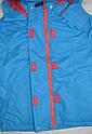 Детская куртка-ветровка с флисовой подстежкой голубая (QuadriFoglio, Польша), фото 4