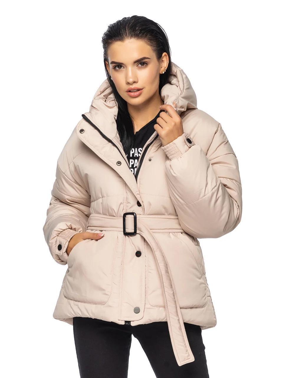Женская стильная зимняя куртка Дорети