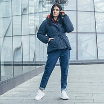 Женская стильная зимняя куртка Дорети, фото 3