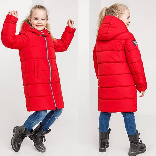 Детское зимнее пальто на девочку Злата