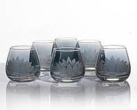 Набор стаканов Лотос аметист для виски 300 мл, 6 шт.
