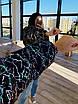 Женская короткая зимняя куртка со светоотражащим разноцветным эффектом (р. 42-46) 66ki462Q, фото 5