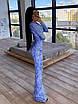 Длинное вечернее платье из сетки с узорами из пайеток, по фигуре, с длинным рукавом 66ty1624Е, фото 6