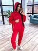 Женский утепленный спортивный костюм со свободным удлиненным худи (р. 42-46) 66rt1094Q, фото 3
