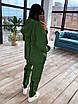 Женский утепленный спортивный костюм со свободным удлиненным худи (р. 42-46) 66rt1094Q, фото 5
