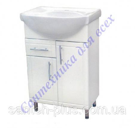 """Тумба для ванной комнаты серии """"Стандарт"""" Т3/4 с умывальником Изео-65, фото 2"""