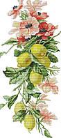 Набір для вишивання хрестом 29х58 Лимони Joy Sunday H777, фото 1