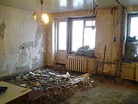 Демонтаж квартиры Снос стен в квартире Демонтаж старых квартир, фото 1
