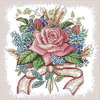 Набір для вишивання хрестом 27х27 Букет квітів Joy Sunday H670, фото 1