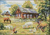 Набір для вишивання хрестом 58х43 Ферма Joy Sunday F865, фото 1
