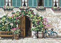 Набор для вышивания крестом 44х33 Отель Сорренто Joy Sunday FA031