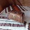 Резная шкатулка - ларец 17х10х10 см. для украшений из дерева, ручная работа ШК-3, фото 3