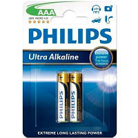Батарейки ААА Philips PowerLife (LR03E2B/10)