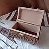 Резная шкатулка - ларец 17х10х10 см. для украшений из дерева, ручная работа ШК-3, фото 8