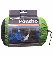 Дождевик пончо Sea to Summit Nylon Tarp-Poncho Green