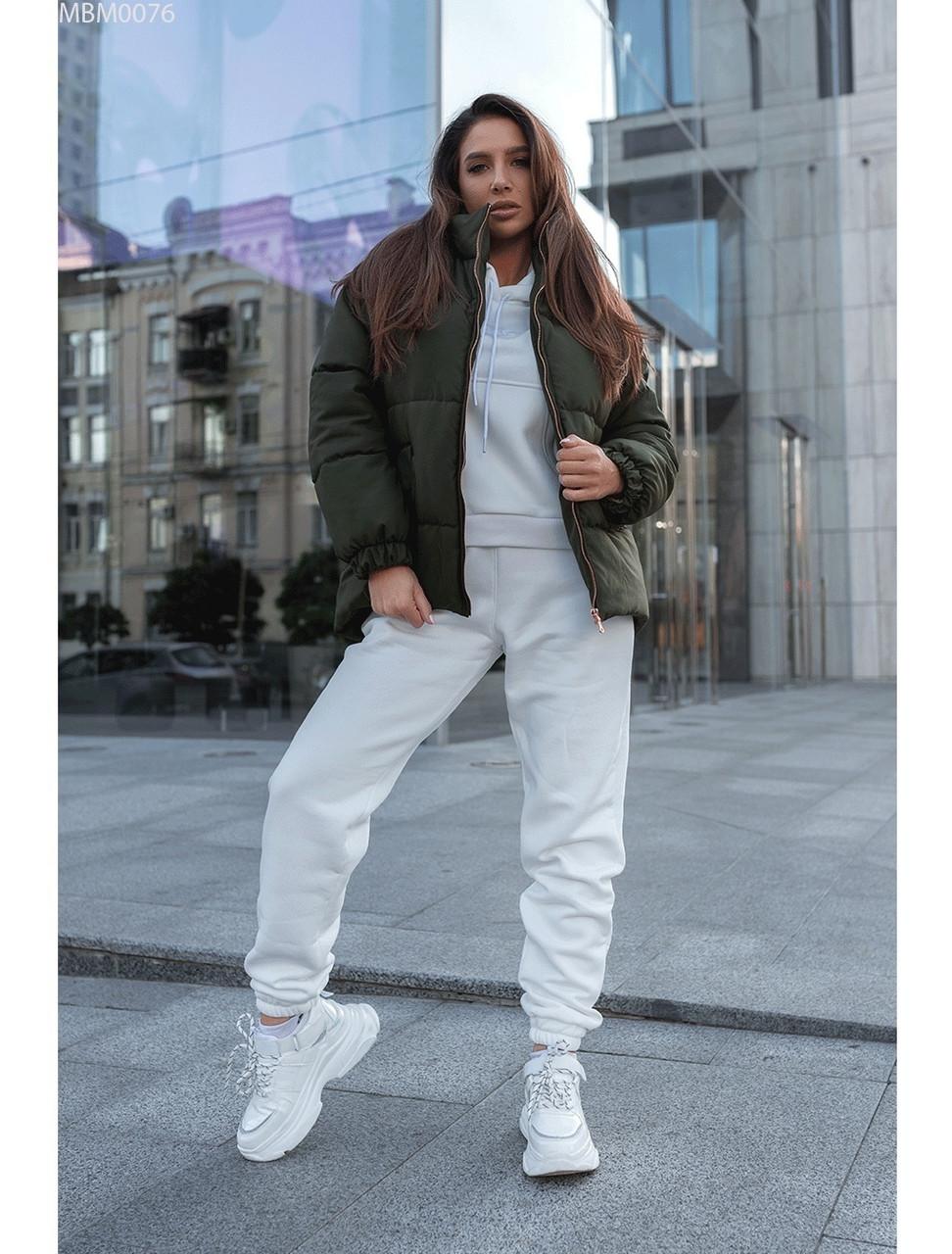 Женская зимняя куртка Staff gerber khaki. [Размеры в наличии: XS,S,M,L]