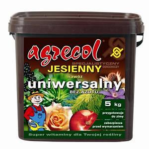 Удобрение Agrecol (Агрекол) осеннее универсальное 5 кг