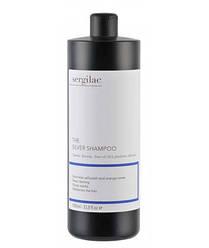 Шампунь для волос нейтрализующий желтый пигмент Sergilac The Silver Shampoo 1000 мл