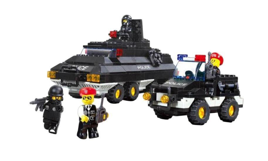 Конструктор SLUBAN серии «Полиция» М38-В2000