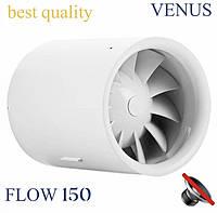 Канальный вентилятор 150 мм бесшумный VENUS FLOW VKT 150 пластиковый бесшумный