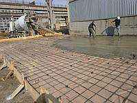 Подливка бетона (раствора) под оборудование