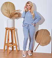 Женский трикотажный спортивный костюм.Размеры:48,50,52,54.+Цвета, фото 1
