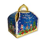 Упаковка для конфет на Новый год и Николая Синий сундук