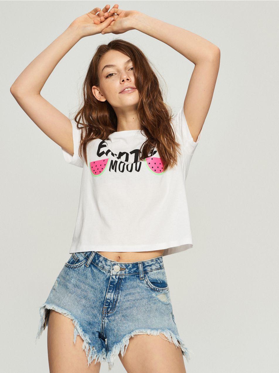 Женская футболка sinsay