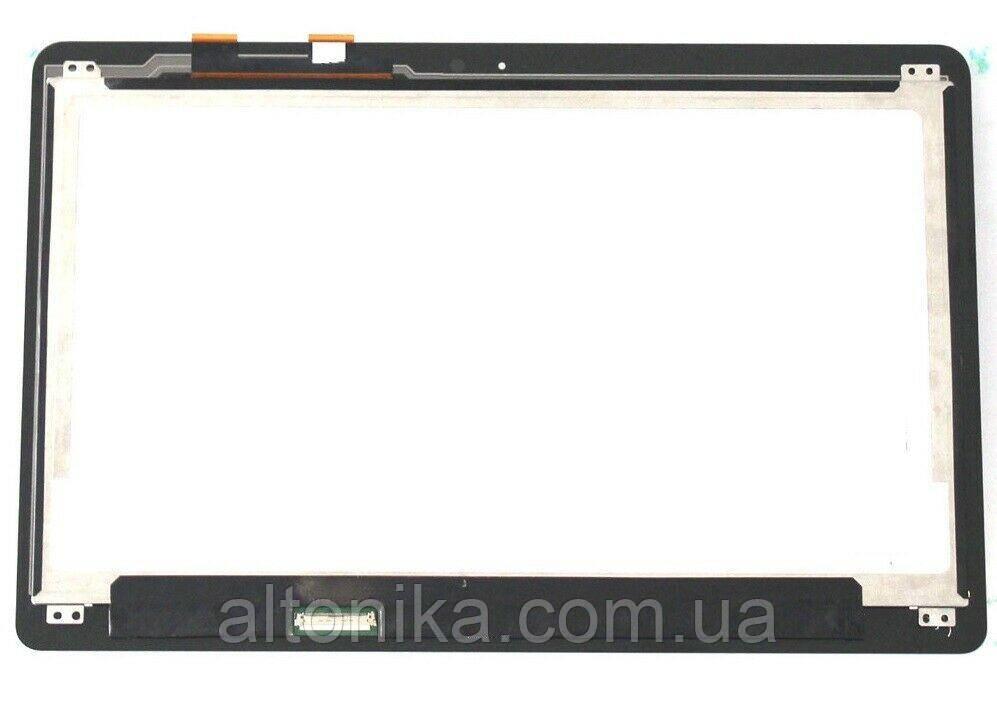 """+LCD 13.3"""" ASUS UX360/ UX360U/ UX360UA Тонка/ Глянсова/ ШлейфСлева з сенсором чорний"""