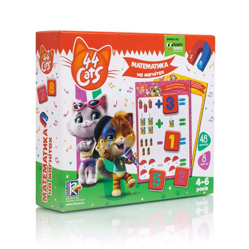 "Математика на магнітах ""44 Коти"" VT5411-08, Vladi Toys"