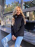 Теплая женская жилетка с карманами 13-327, фото 4