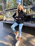 Теплая женская жилетка с карманами 13-327, фото 10