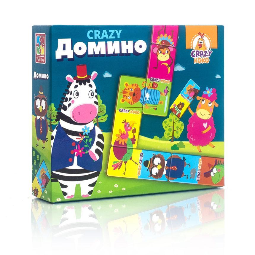 """Игра настольная """"Crazy Домино"""" VT8055-04, Vladi Toys"""