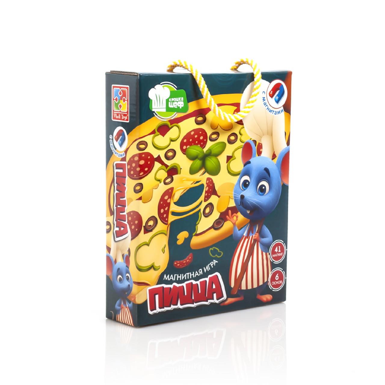 """Игра магнитная """"Пицца"""" VT3004-08, Vladi Toys"""