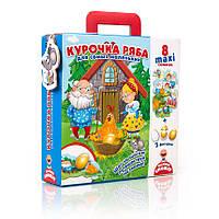 "Макси пазлы ""Курочка Ряба"" для самых маленьких VT2909-12, Vladi Toys"