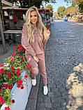 Женский осенний костюм из замши на дайвинге 13-329, фото 8