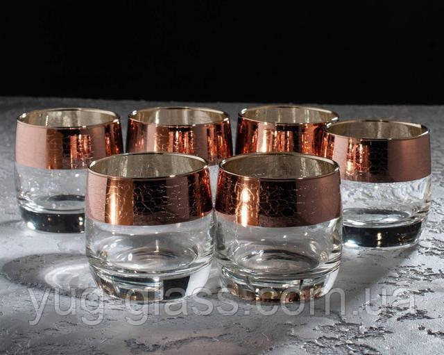 Набор стаканов для виски золото