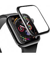 Защитное стекло 3D на часы Apple Wacth 38mm