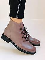 Жіночі черевики. На середньому каблуці. Натуральна шкіра.Висока якість. Erisses. Р. 35-40.Vellena, фото 5