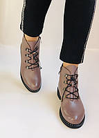 Жіночі черевики. На середньому каблуці. Натуральна шкіра.Висока якість. Erisses. Р. 35-40.Vellena, фото 9