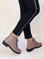 Жіночі черевики. На середньому каблуці. Натуральна шкіра.Висока якість. Erisses. Р. 35-40.Vellena, фото 2