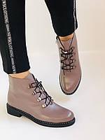 Жіночі черевики. На середньому каблуці. Натуральна шкіра.Висока якість. Erisses. Р. 35-40.Vellena, фото 4
