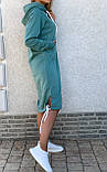 Теплое платье с капюшоном 26-823, фото 10